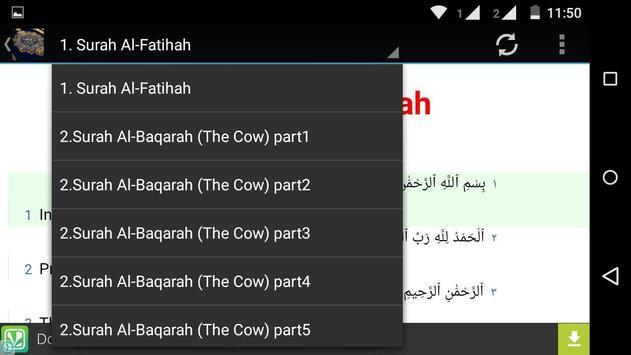 The Noble Book Quran apk screenshot
