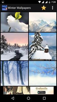 Winter HD Wallpaper apk screenshot