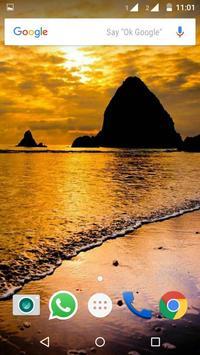 Beaches Wallpaper HD screenshot 1