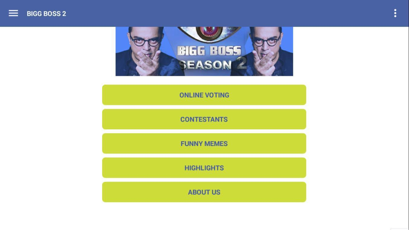 Bigg Boss 2 Tamil 2018 for Android - APK Download
