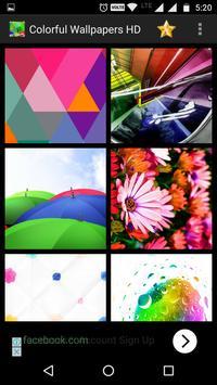 Colorful Wallpapers HD screenshot 9
