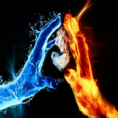 Fire Abstract HD Wallpaper icon