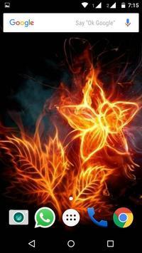 Fire Abstract HD Wallpaper apk screenshot
