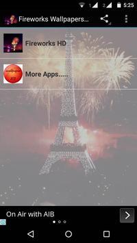 Fireworks Wallpaper HD poster