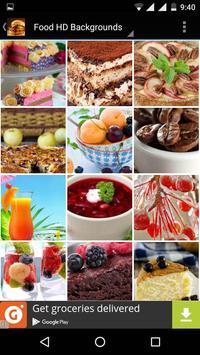Food Wallpapers HD screenshot 2