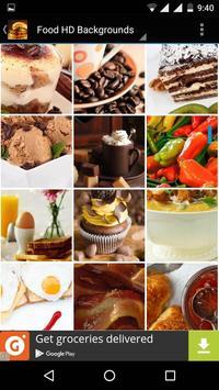 Food Wallpapers HD apk screenshot