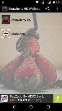 Strawberry Wallpaper HD poster
