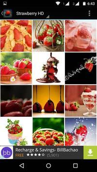 Strawberry Wallpaper HD apk screenshot