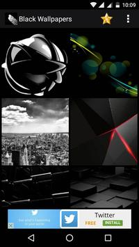 Black HD Wallpaper apk screenshot