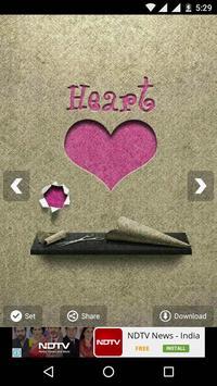 Heart HD Wallpapers apk screenshot