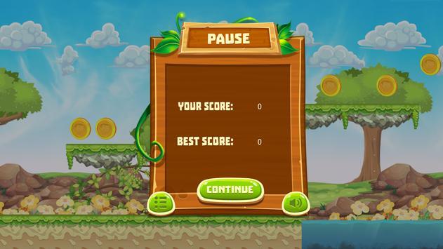 Mr Pean Adventure Run apk screenshot