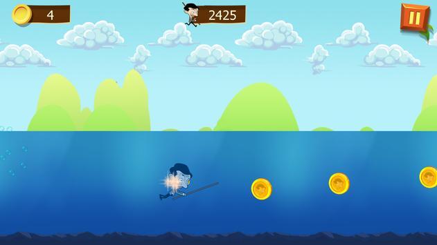 Mr Pean Adventure Run screenshot 3