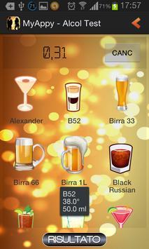 Alcol Test screenshot 2