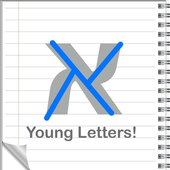 Young Letters Hebrew icon