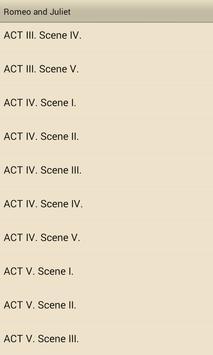 Romeo and Juliet apk screenshot