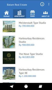 Batam Real Estate screenshot 1