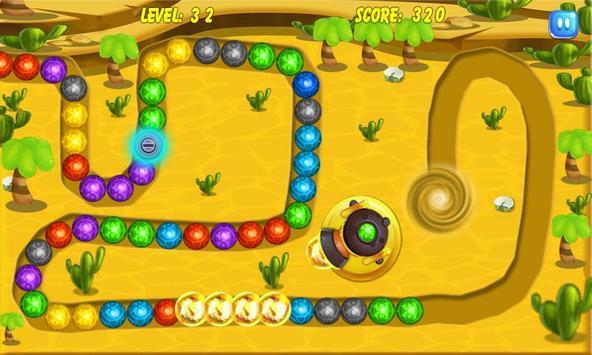 Marble Splash Deluxe apk screenshot