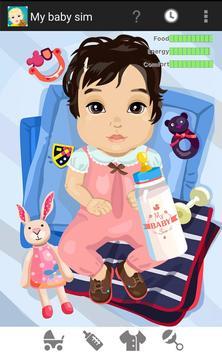 My Baby Sim - childcare game screenshot 4