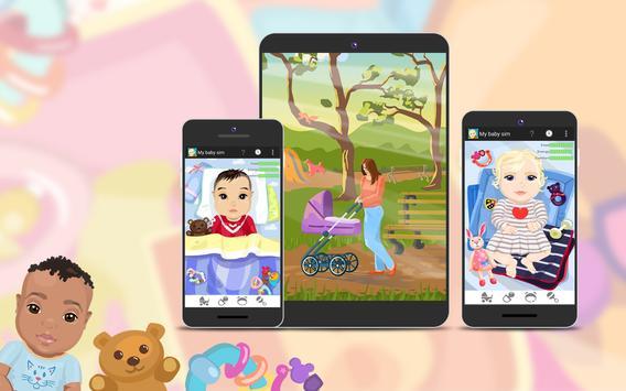 My Baby Sim - childcare game screenshot 6