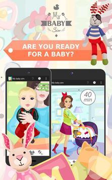 My Baby Sim - childcare game screenshot 1