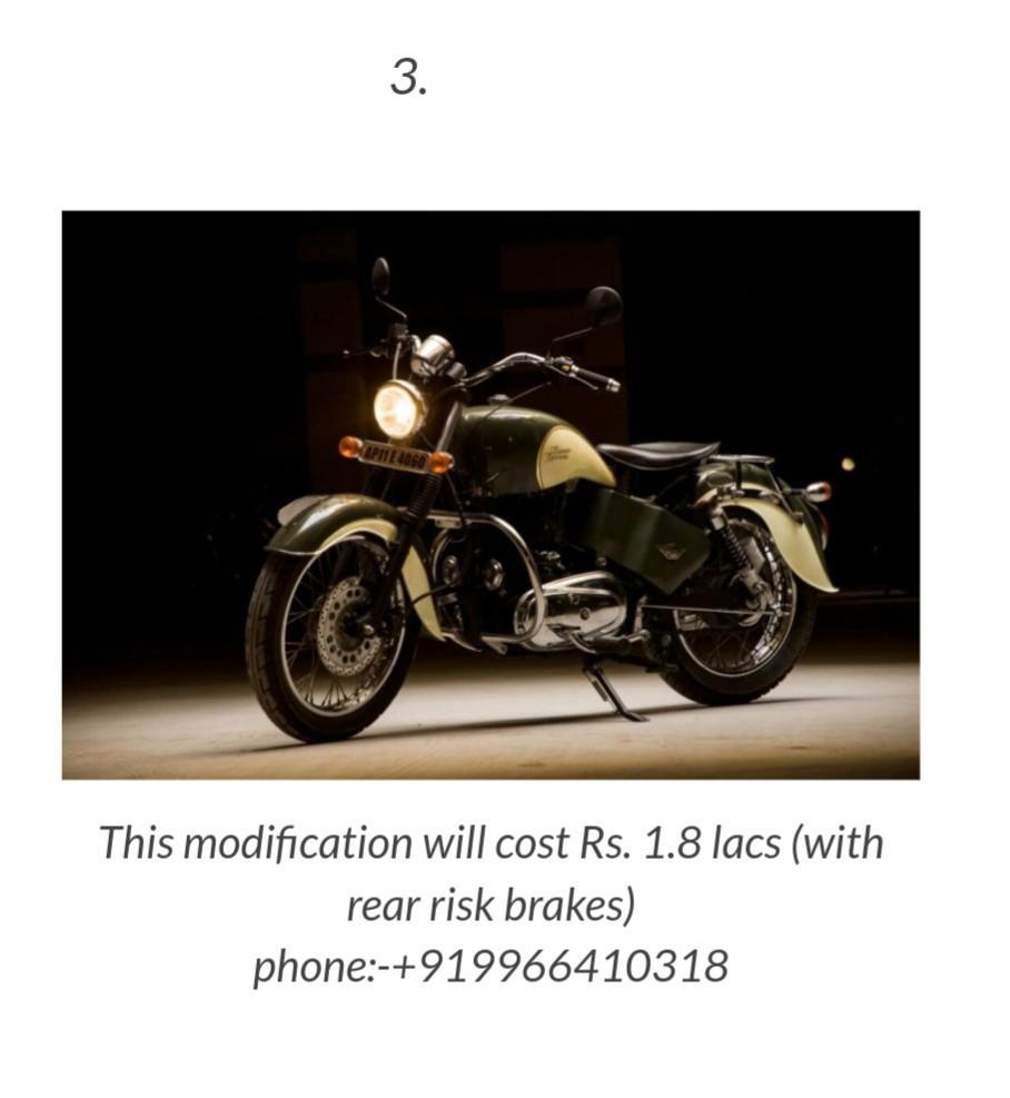 bike modification details and price for Android - APK Download