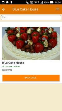 D'La Cake House screenshot 4