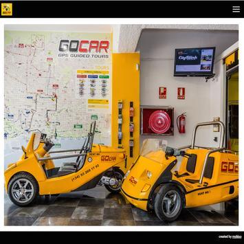 GoCar Barcelona poster