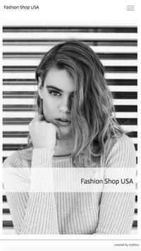 Fashion Shop USA poster
