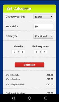 My bet adviser apk screenshot