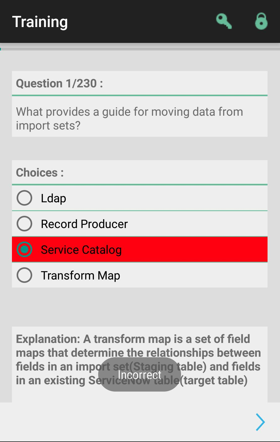 ServiceNow Admin Quiz(Trial) for Android - APK Download