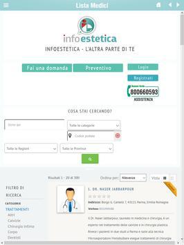 infoestetica apk screenshot