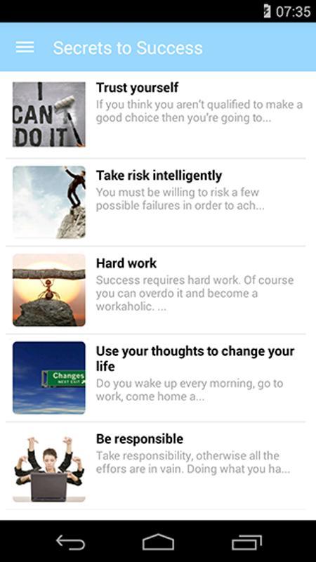 Success Citaten Apk : Secrets to success apk download free lifestyle app for