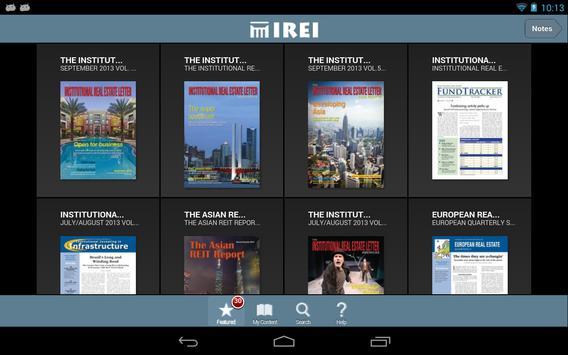 Institutional Real Estate, Inc apk screenshot
