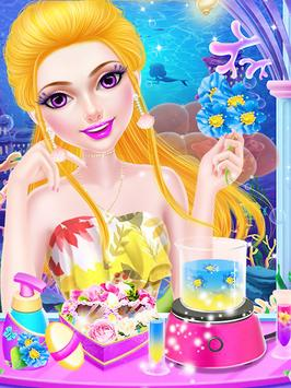 Mermaid Princess Makeup Salon poster