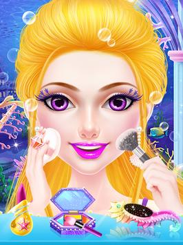 Mermaid Princess Makeup Salon screenshot 2