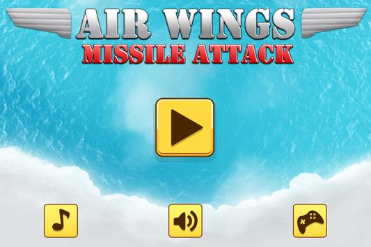 Air Wings - Missile Attack screenshot 8