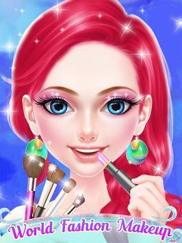 World Fashion Makeup & Dressup screenshot 7