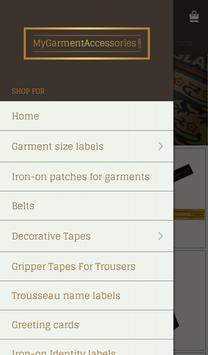 My Garment Accessories apk screenshot