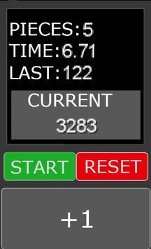 PPH - Pieces per hour free apk screenshot