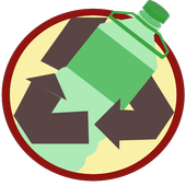 Bottle: Recycle icon