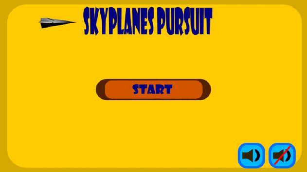 Sky Planes Pilot Pursuit Games poster