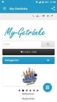 My-Getränke apk screenshot