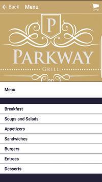 Parkway Grill apk screenshot