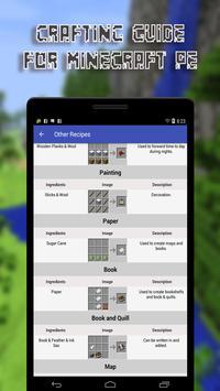 Crafting Guide for MCPE apk screenshot