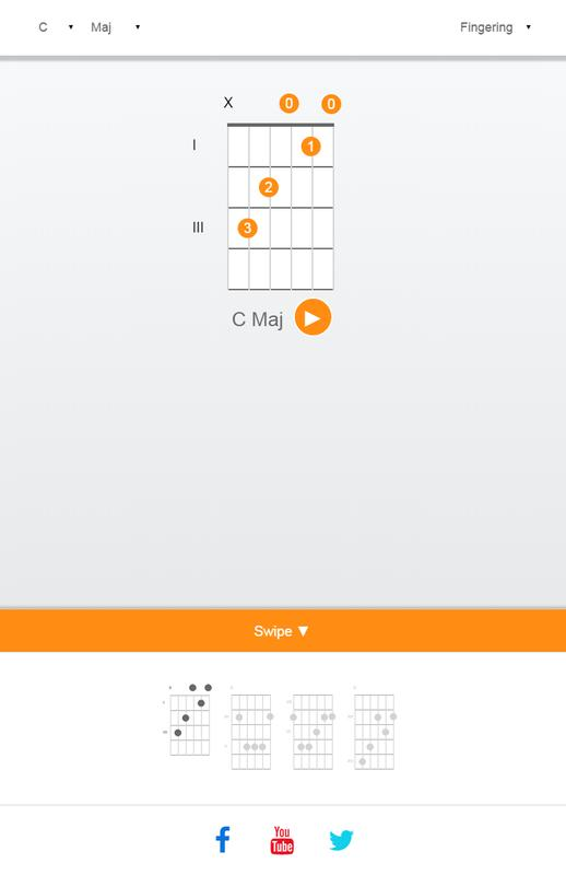 Guitar Chord Finder APK Download - Free Music & Audio APP for ...