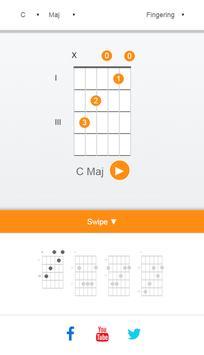 Guitar Chord Finder screenshot 1