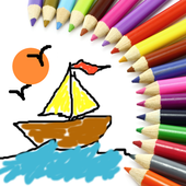 Sweet Coloring Book icon