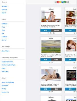 MyDealPage - Daily Deals V2.0 apk screenshot