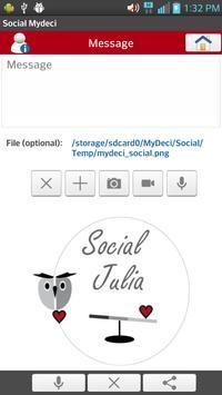 Social Mydeci Lite apk screenshot