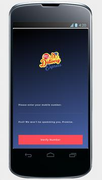 My Delivery Express App poster